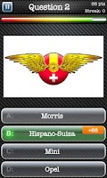 Screenshot of Cars Quiz Game: Logo & Picture