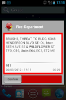 Screenshot of FireAlert 2
