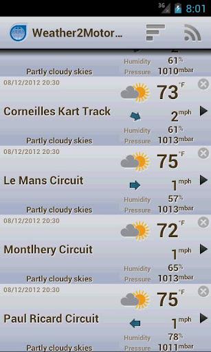 Weather2MotorRacing