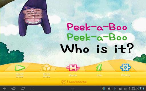 Peekaboo Peekaboo Who is it