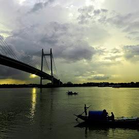 by Pradipta Dasgupta - Transportation Boats
