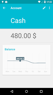 Financius - Expense Manager Screenshot