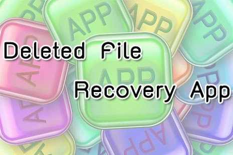 Deleted File Recovery App - screenshot