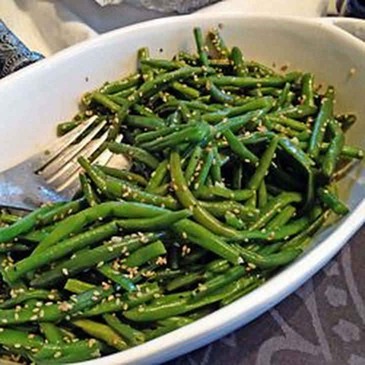 Sesame Green Beans Recipe | Yummly