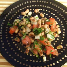 Lemony Black-Eyed Pea and Cilantro Salad