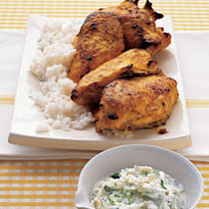 Tandoori Chicken with Yogurt Sauce