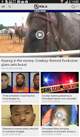 Screenshot of KSLA News 12