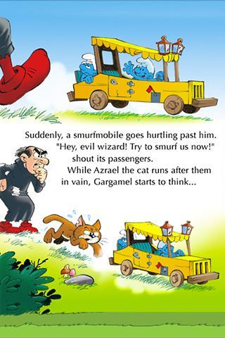 【免費漫畫App】The Smurfs - Smurfmobile Race-APP點子