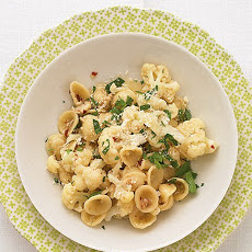 Orecchiette with Cauliflower