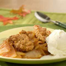 Granola Apple Crisp