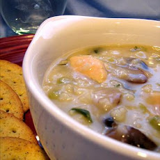 Chicken Risotto Soup