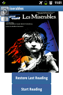 Ebook Les Miserables - screenshot
