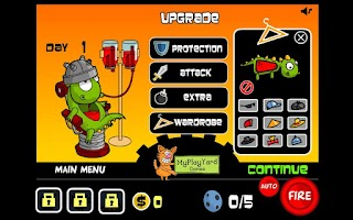 Screenshot of Bamboo Dino