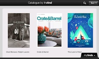 Screenshot of Catalogue by TheFind