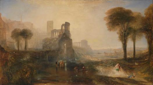 Turner Joseph, Ponte e palazzo di Caligola