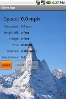 Screenshot of SkiersApp