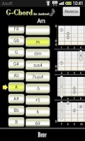 Screenshot of GChord  (Guitar Chord Finder)