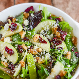 Apple Walnut Cranberry Salad
