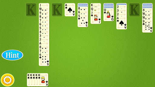 Spider Solitaire Mobile - screenshot