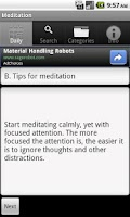 Screenshot of Learn Meditation