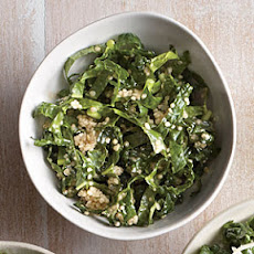 Tahini-Lemon Kale Salad