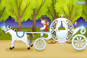 Screenshot of ♥CINDERELLA♥ Kid's book FREE