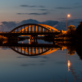 Emu River Bridge. by Robert Stanley - Buildings & Architecture Bridges & Suspended Structures (  )