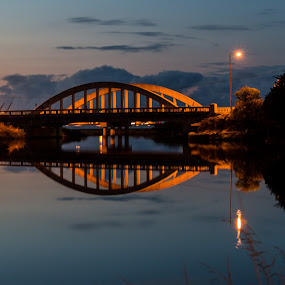 Emu River Bridge. by Robert Stanley - Buildings & Architecture Bridges & Suspended Structures (  )