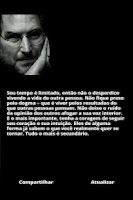Screenshot of Frases de Steve Jobs