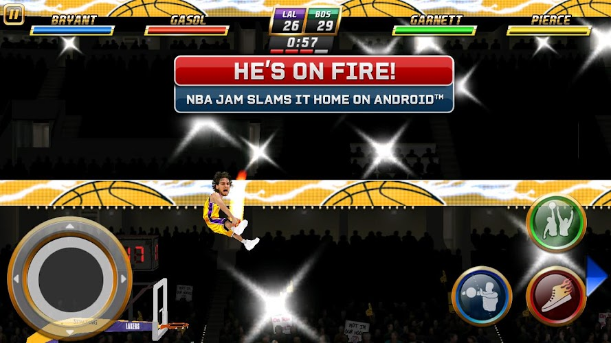 NBA JAM  by EA SPORTS™ Android App Screenshot