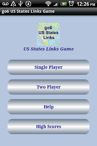 go6 US States Links game
