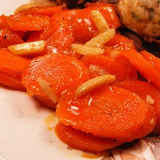 Almond Honey Carrots