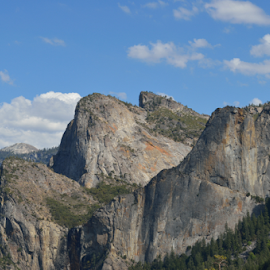 cathedral spires 2  by Tim Hauser - Landscapes Mountains & Hills ( mountains, yosemite, art, fine art, national parks, cathedral spires )