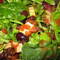 Baby Spinach and Chicken Muscle Salad