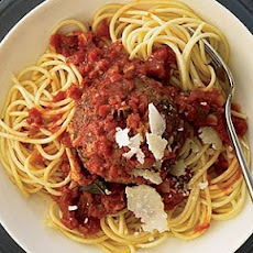 Supersize Meatballs in Marinara Sauce