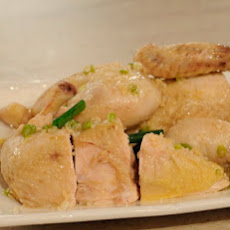 White-Cut Chicken with Spring Onion