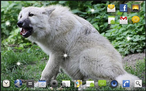 Wolf Games HD live wallpaper - screenshot