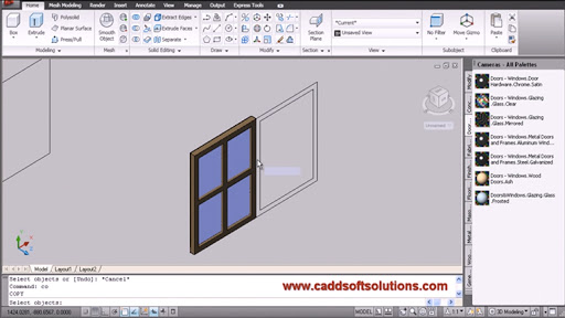 Course of AutoCAD 3D for Interior Design