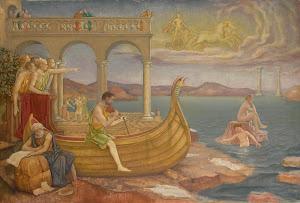 RIJKS: Antoon Derkinderen: painting 1911