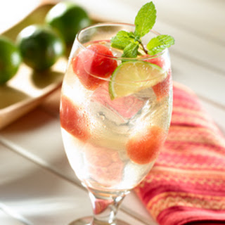 Watermelon-lime Mint Punch