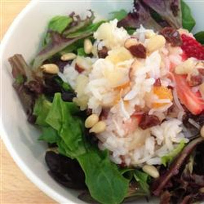 Fruit Rice Salad