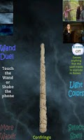 Screenshot of Harry Potter's Wand