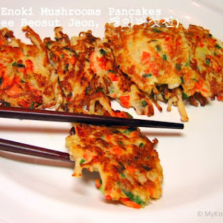 Korean Enoki Mushrooms Recipes