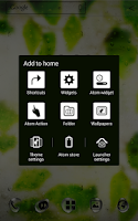 Screenshot of Rainy day Atom theme