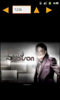 Screenshot of Michael Jackson HD Wallpapers