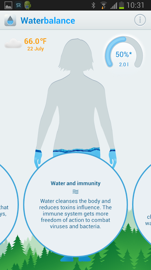 Waterbalance – Screenshot