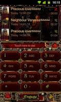 Screenshot of Steampunk GO ContactsEx Theme
