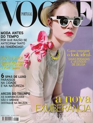 Gafas diferentes revista Vogue Portugal