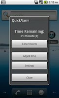 Screenshot of Quick Alarm Timer
