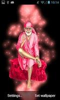 Screenshot of Sai Baba Live Wallpaper